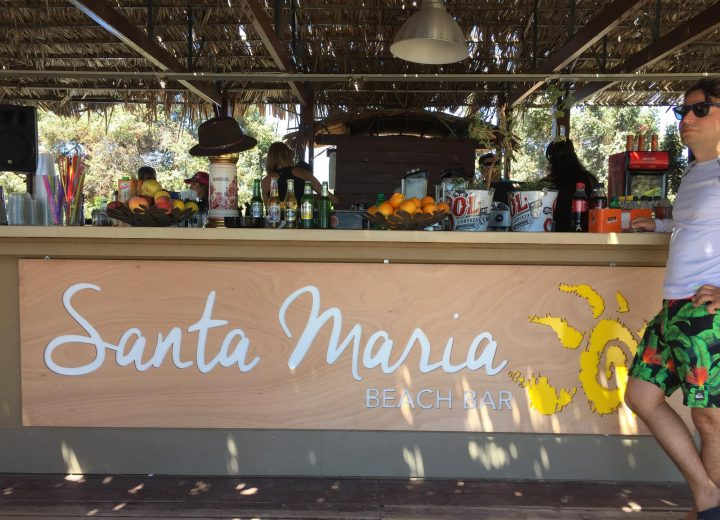 SANTA MARIA beach bar – THE PLACE TO BE ON PAROS ISLAND!